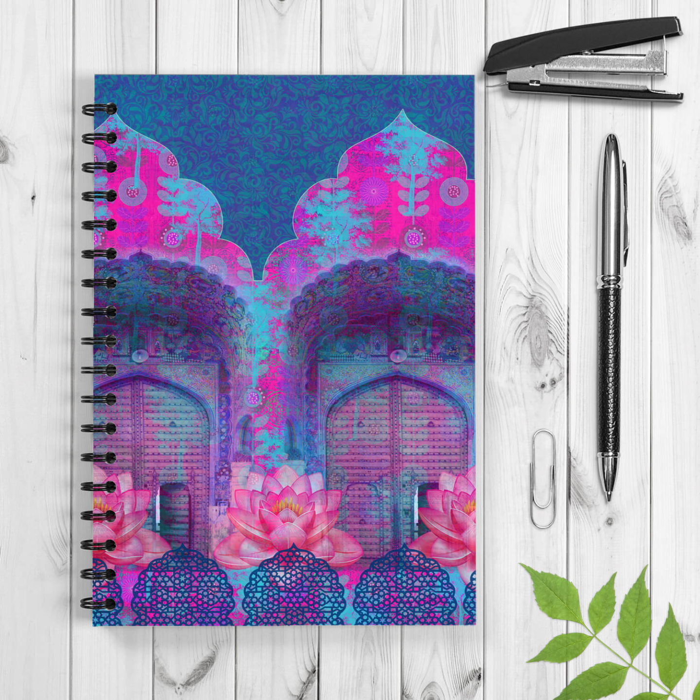 Rajasthani Door Spiral Notebook