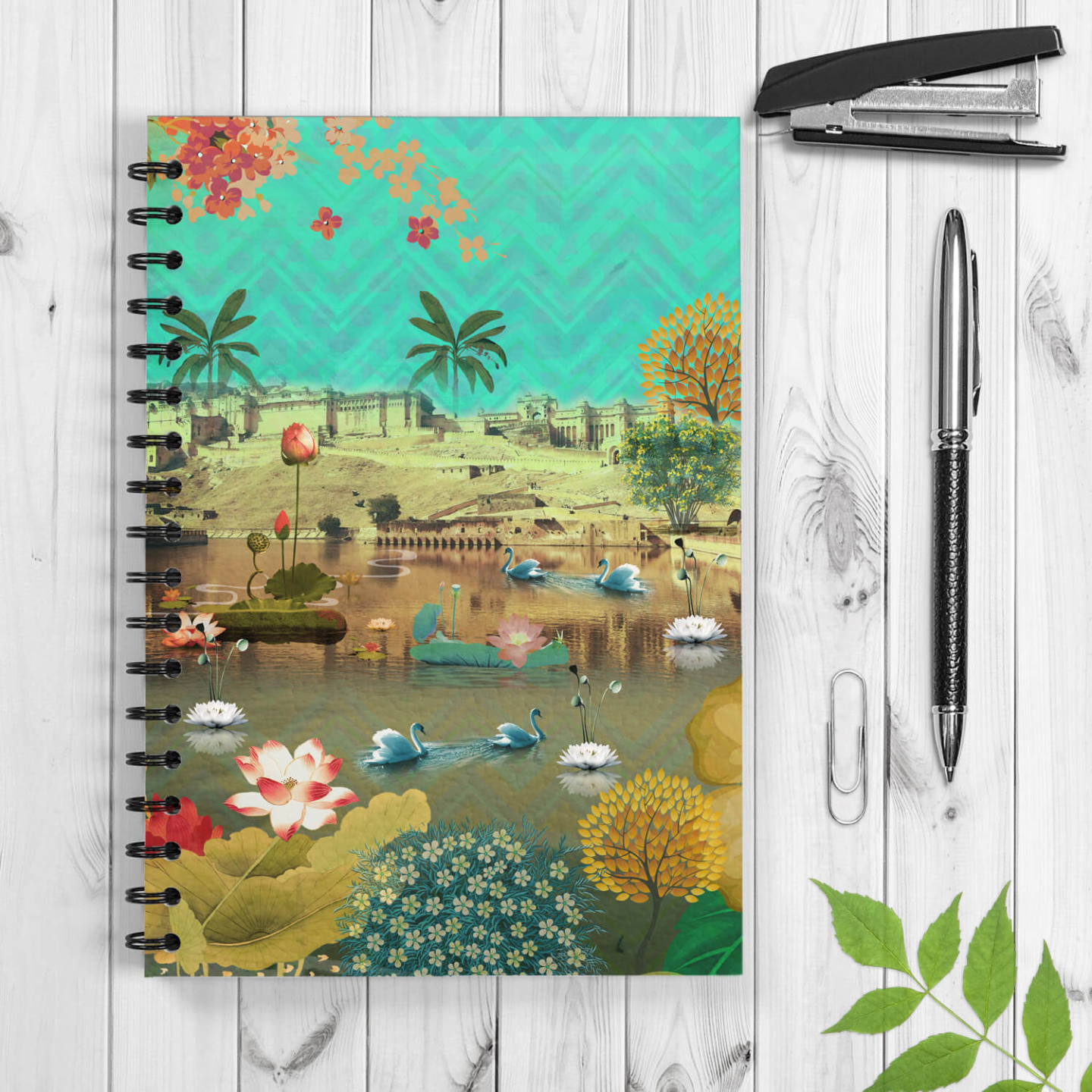 Beautiful Amer Spiral Notebook/Notepad