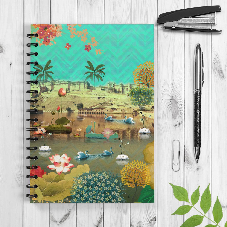 Beautiful Amer Spiral Notebook/Notepad