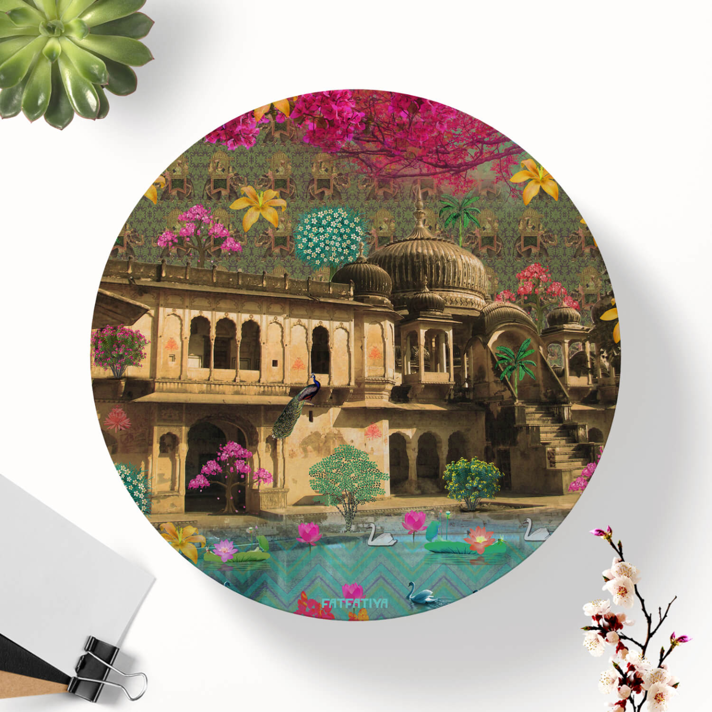 Magnificent Haveli Table Coaster Set of Six