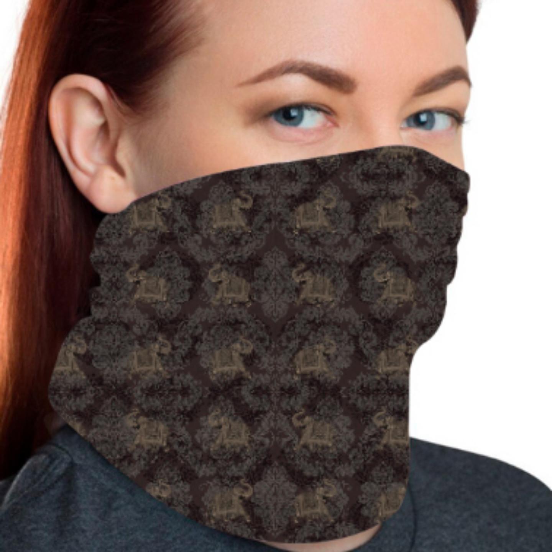 Elephant Themed Unisex Bandana Mask