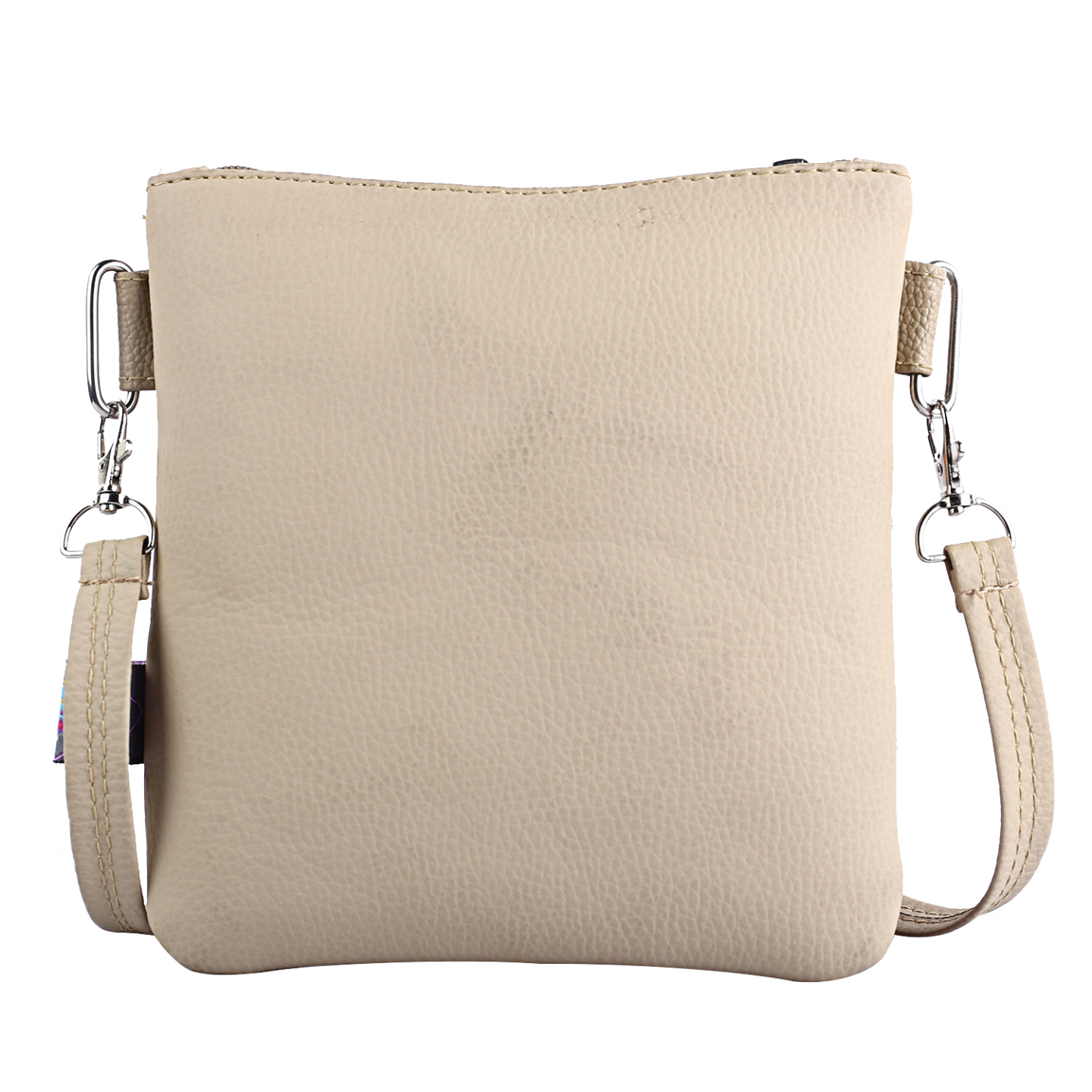 Marvelous Flower Canvas PU Small Sling Bag