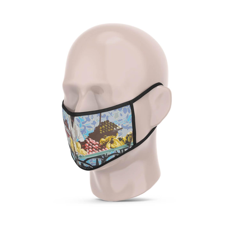 Fruit Seller 3 Layer Reusable Face Mask