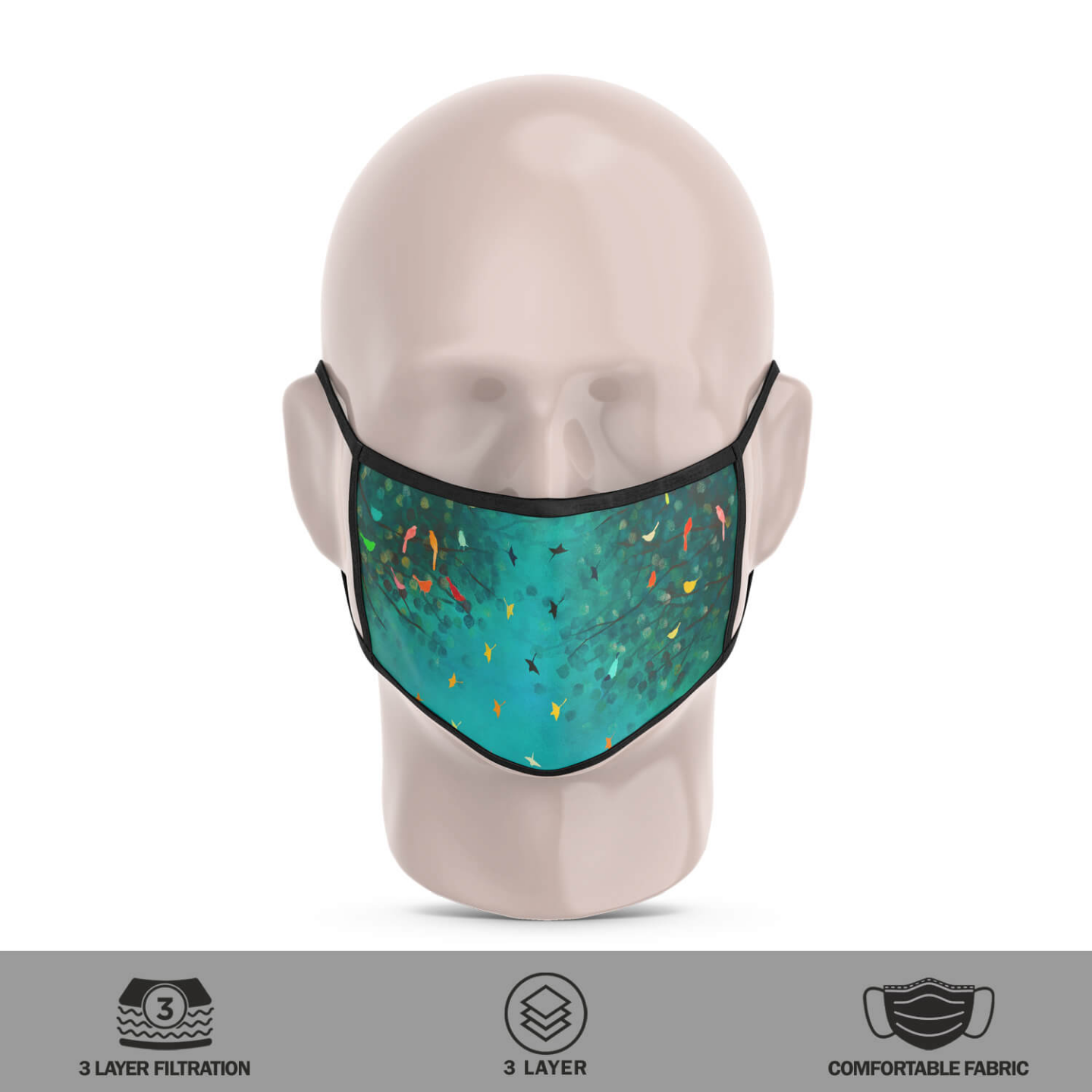 Sky of Stories Reusable Face Mask - Priyanka Waghela