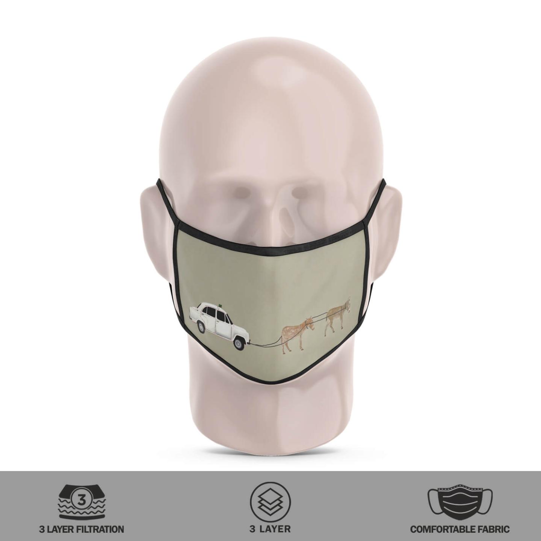 Chhattisgarh Diaries-3 Reusable Face Mask- Tushar Waghela