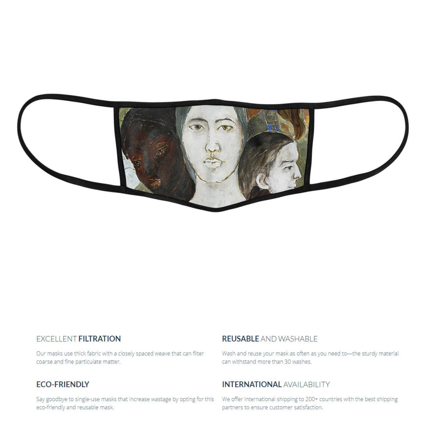 As I See It Reusable Face Mask - Priyanka Waghela
