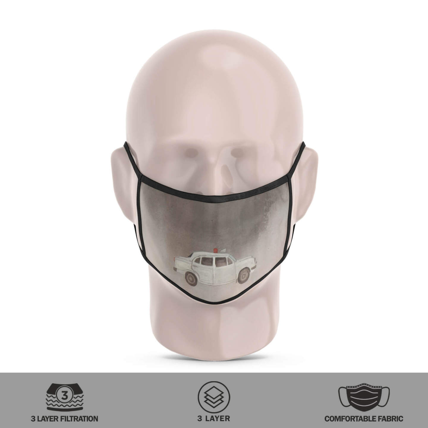 Bharat Reusable Face Mask - Tushar Waghela