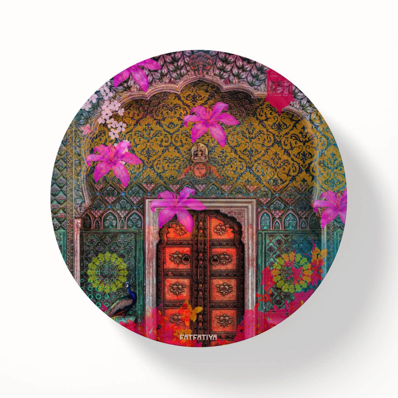 Royal Door Table Coaster Set of Six