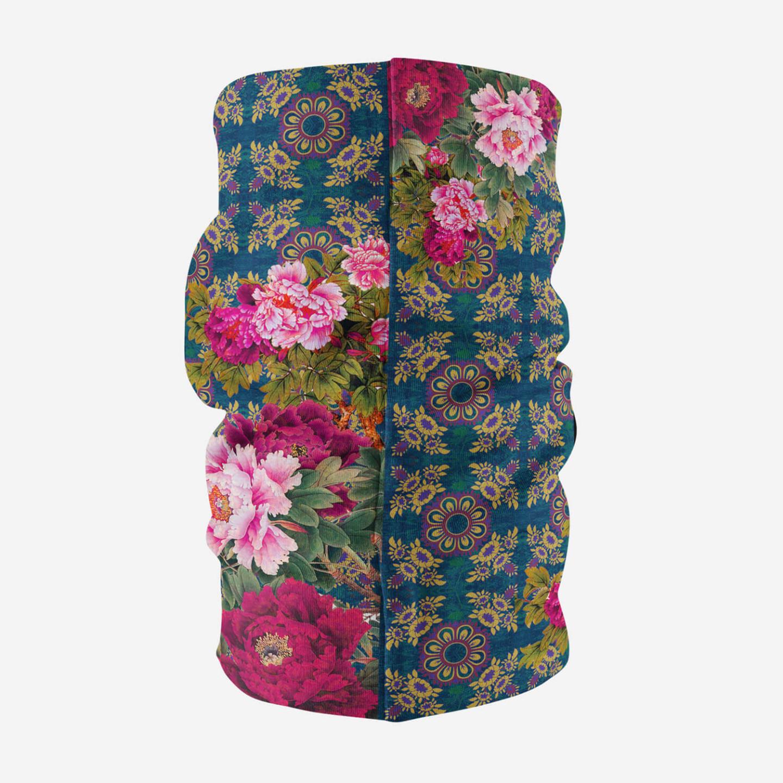 Geometric Design Flowery Unisex Bandana Mask