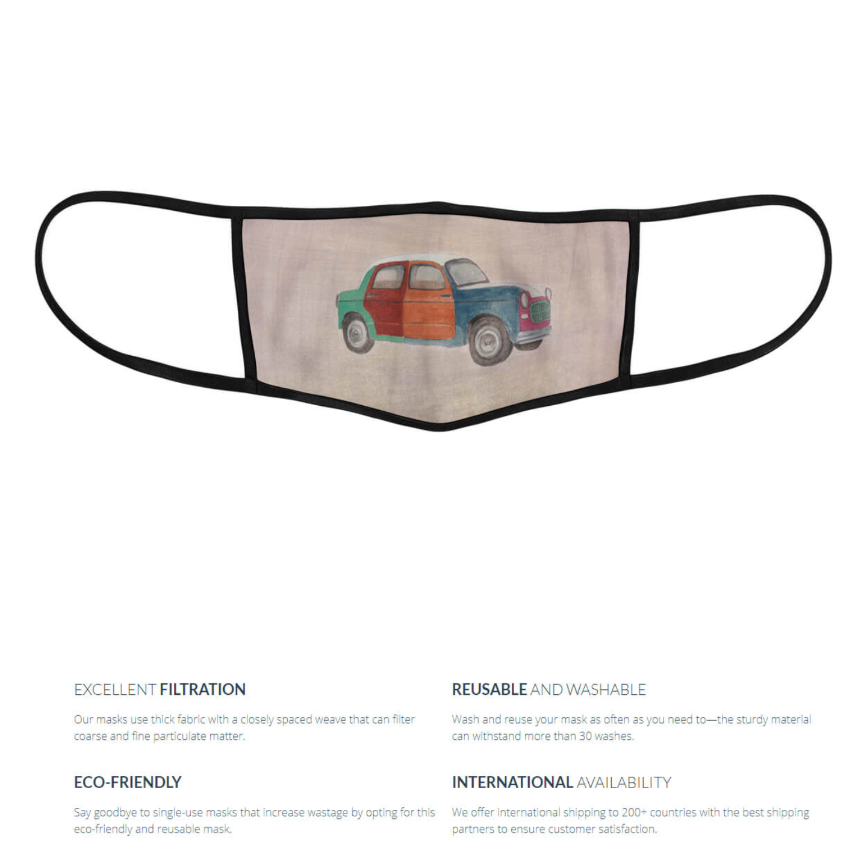 Chhattisgarh Diaries-10 Reusable Face Mask- Tushar Waghela