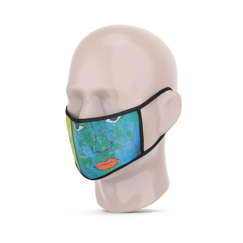 Winter Reusable Face Mask - Priyanka Waghela