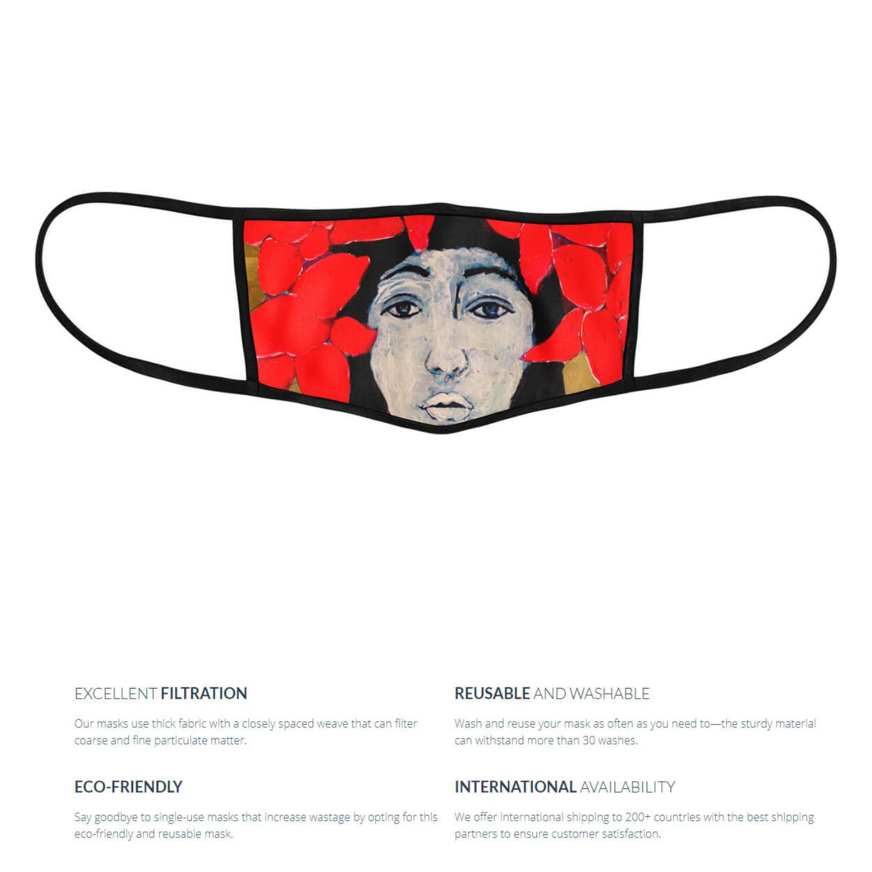 Vasant Gatha Reusable Face Mask - Priyanka Waghela