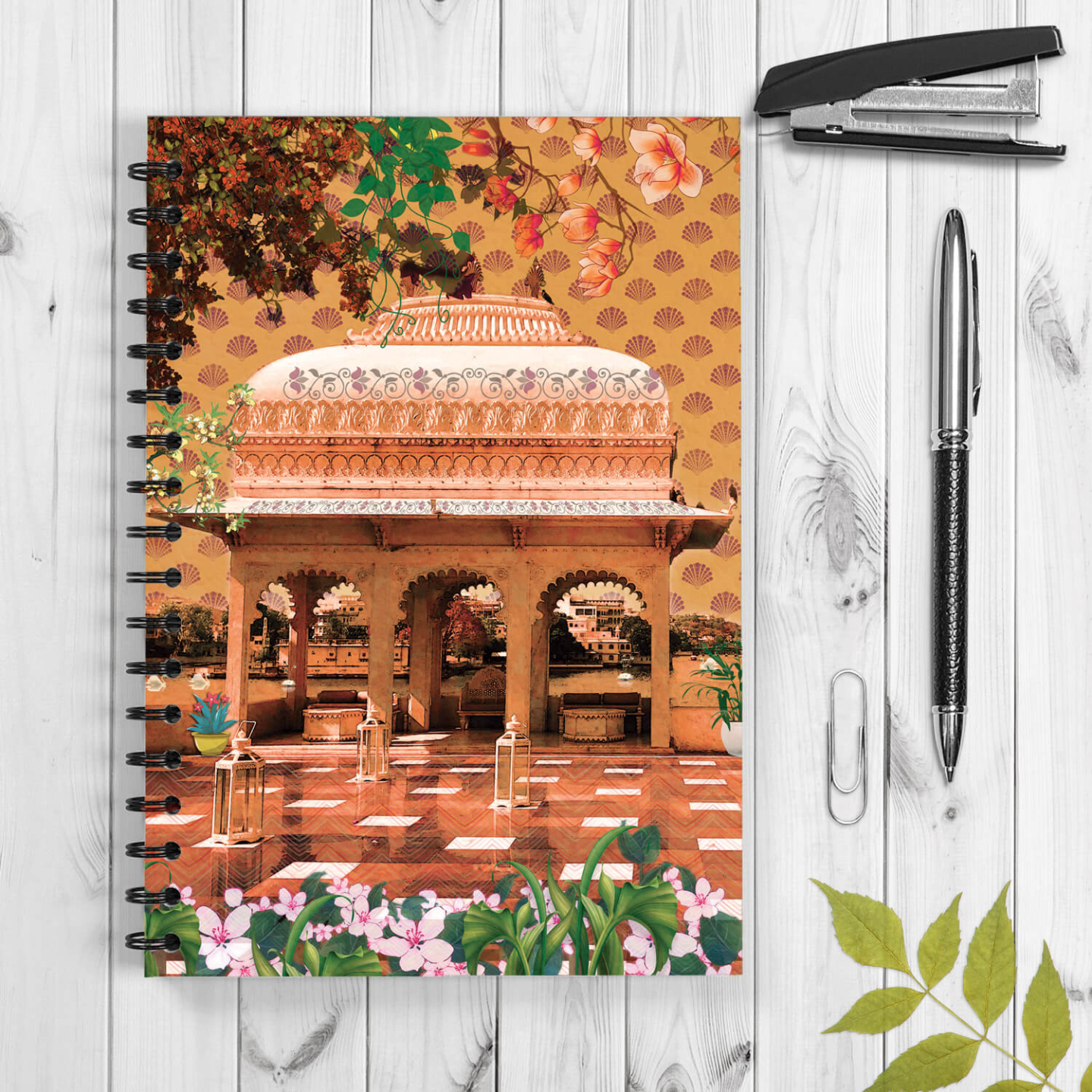 Magnificent Dome A5 Designer Wiro Notepad