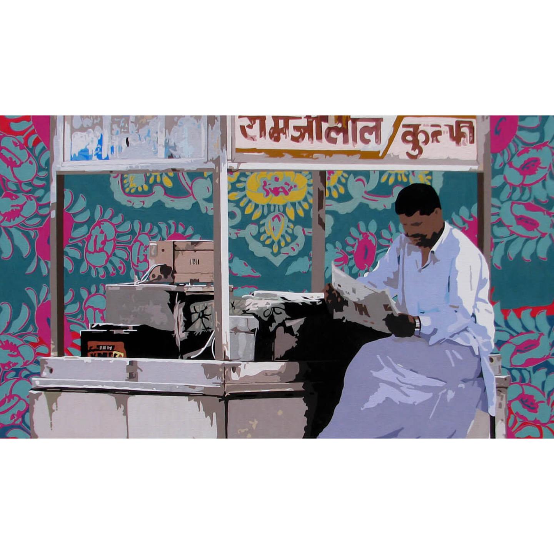 Kulfi Seller Reusable Face Mask - Sohan Jakhar
