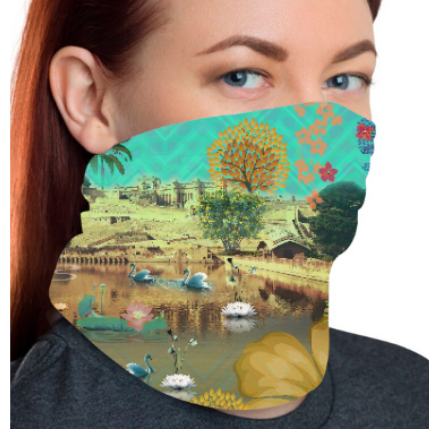 Beautiful Lakeside Unisex Bandana Mask