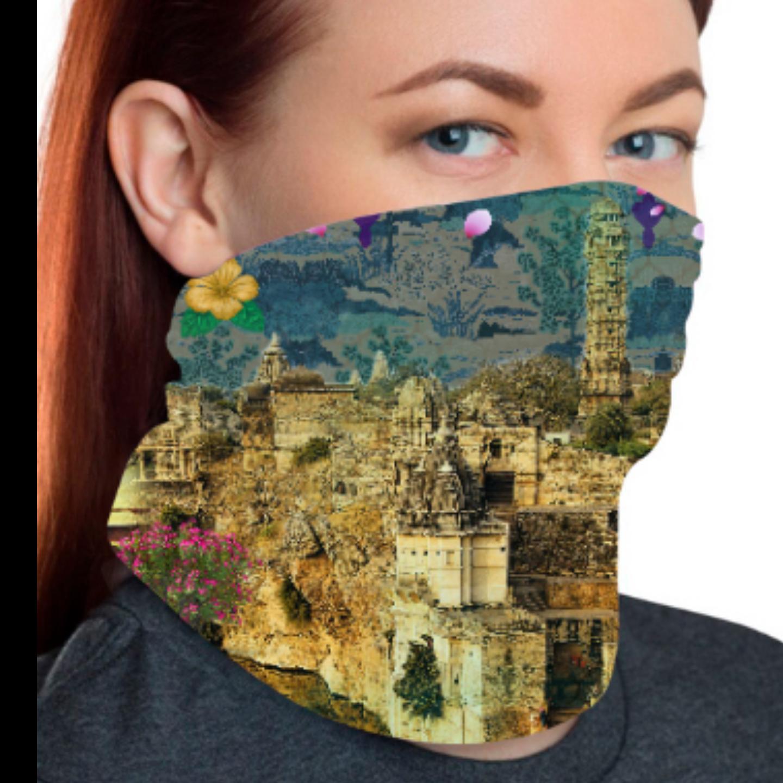 Beautiful Historical Fort Unisex Bandana Mask