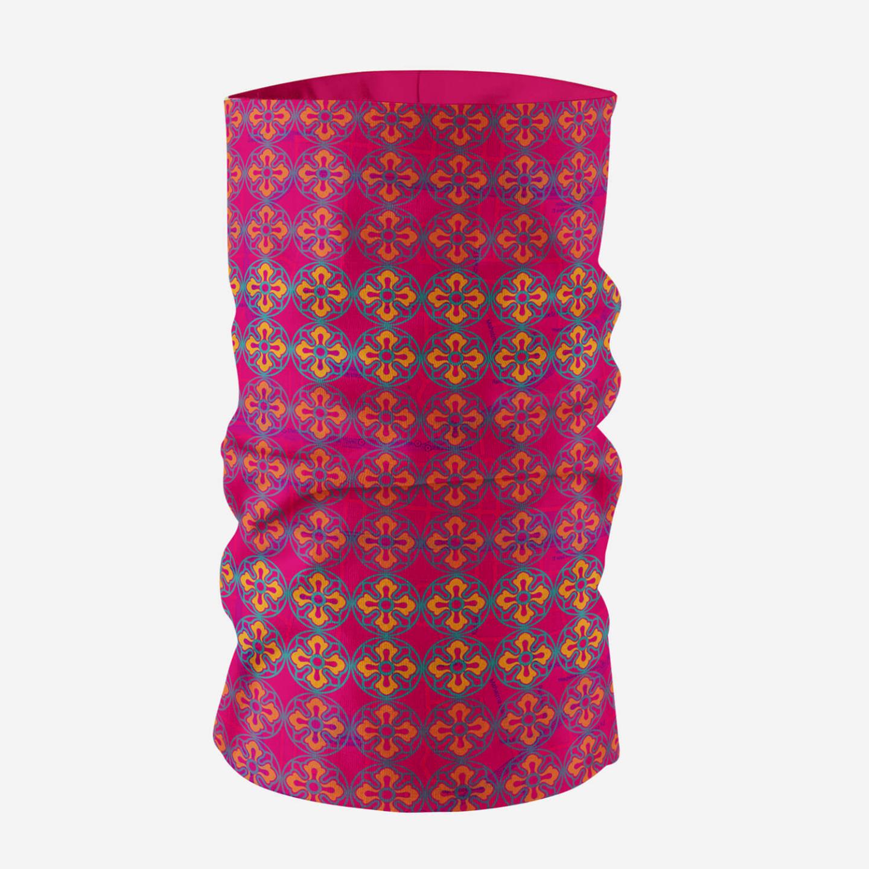 Sublime Flower Unisex Printed Neck Gaiter/Bandana Mask