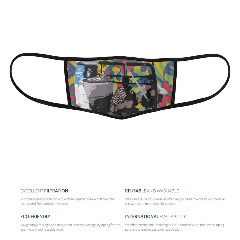 Cobbler 3 Layer Reusable Face Mask