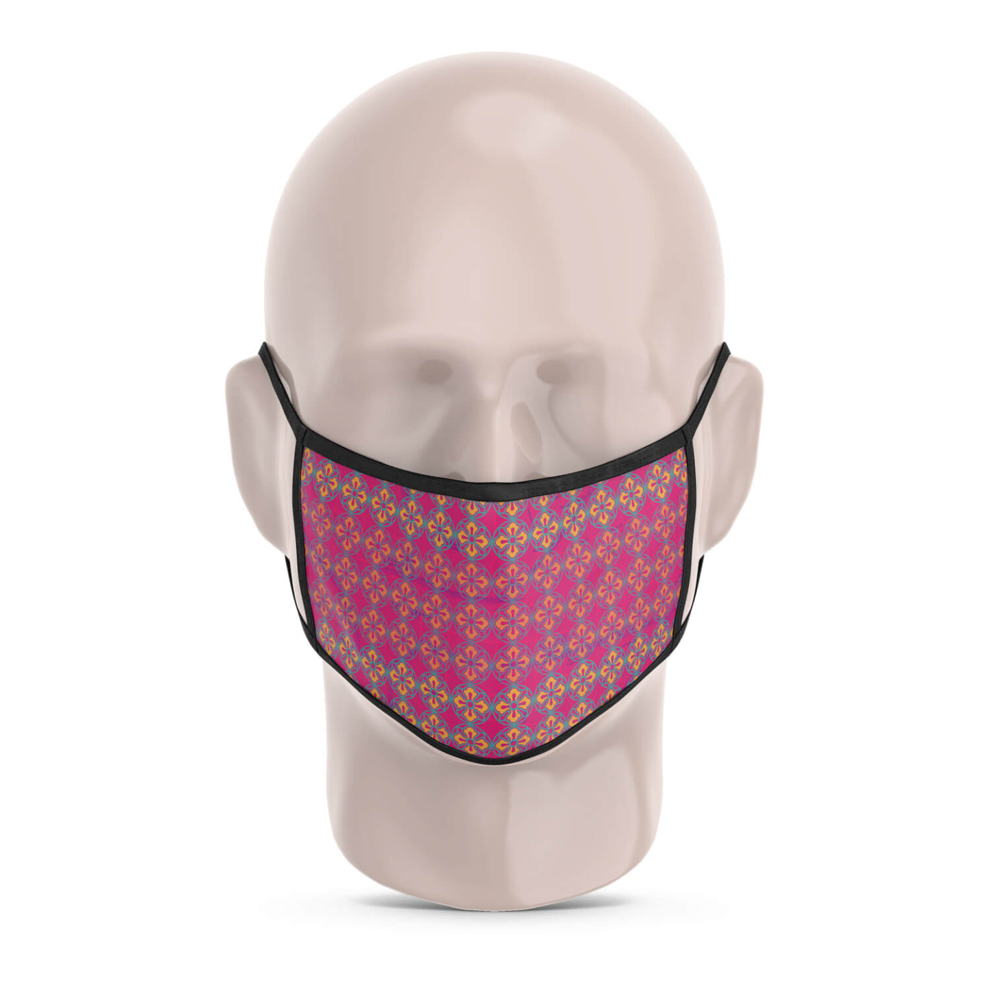 Sublime Flower Reusable Printed Face Mask