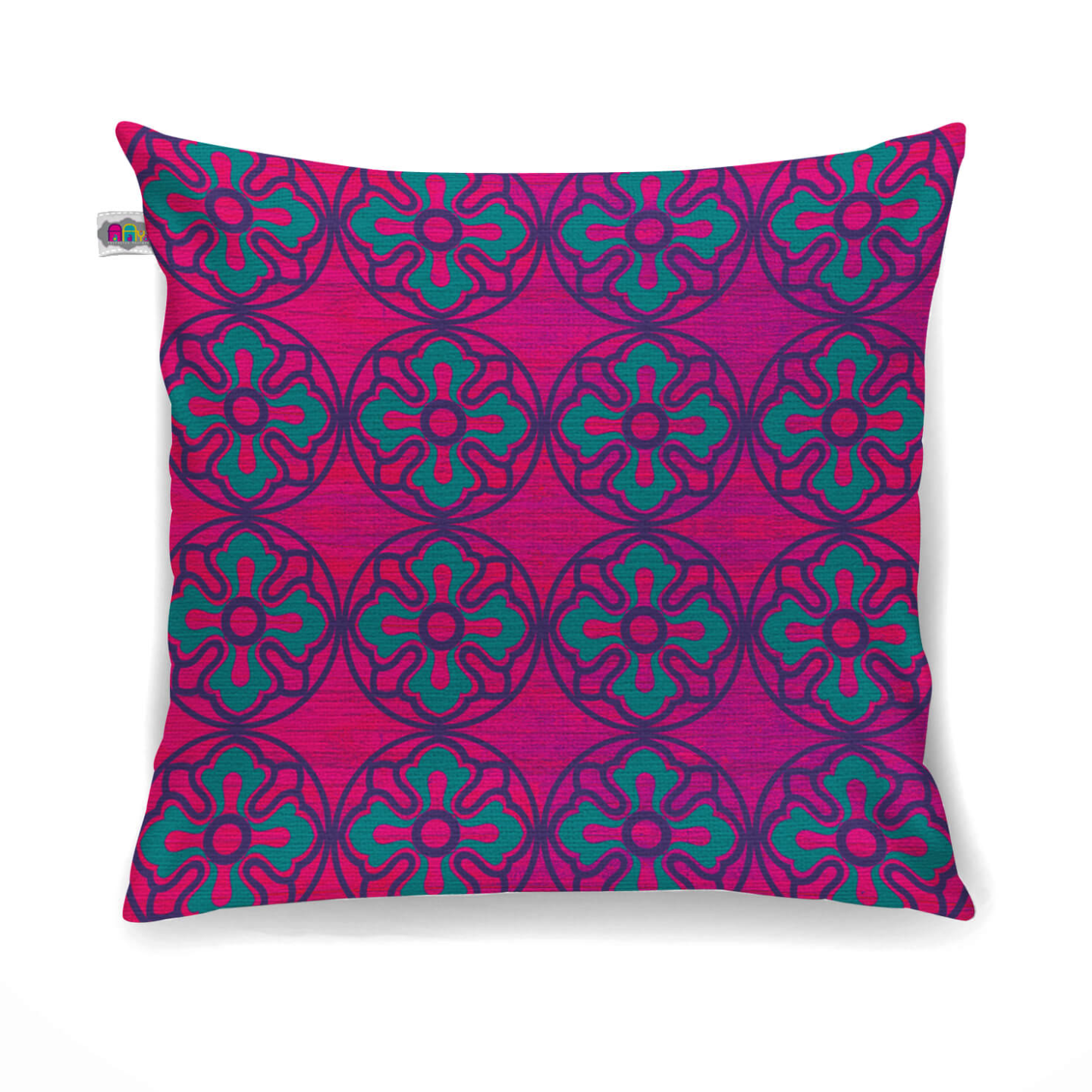 Sublime Flower Motif Cushion Cover Set of 2