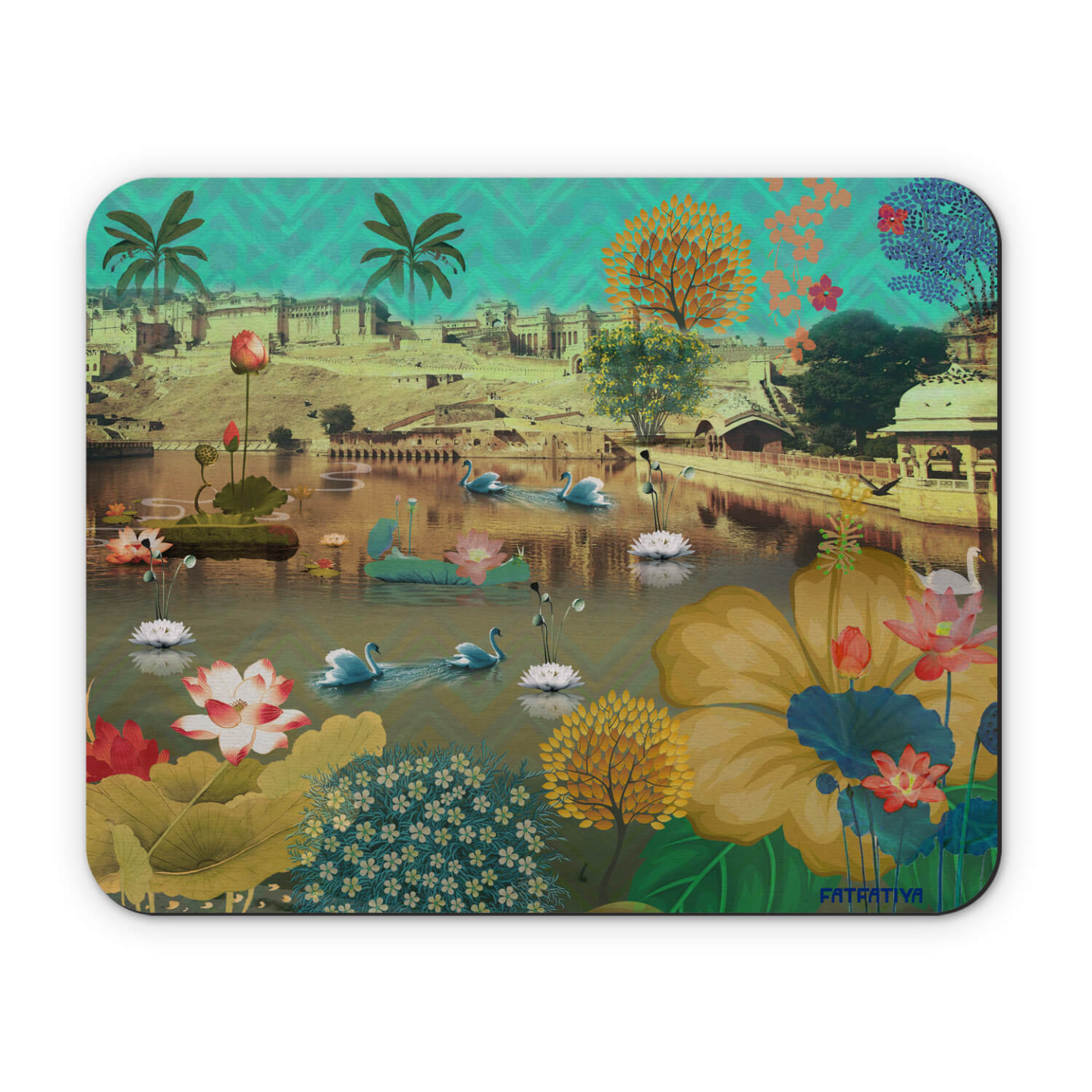 Beautiful Amer Lake Mouse Pad
