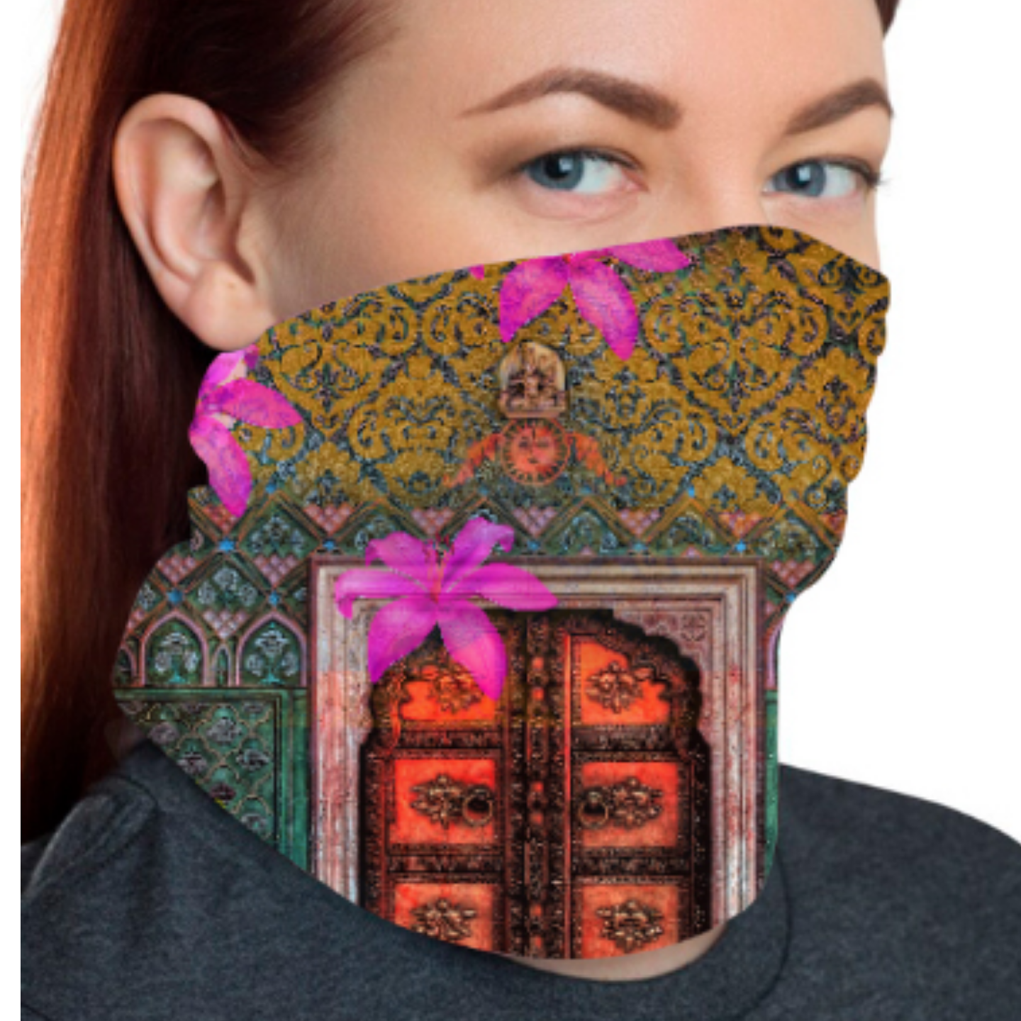 Royal Grace Unisex Bandana Mask