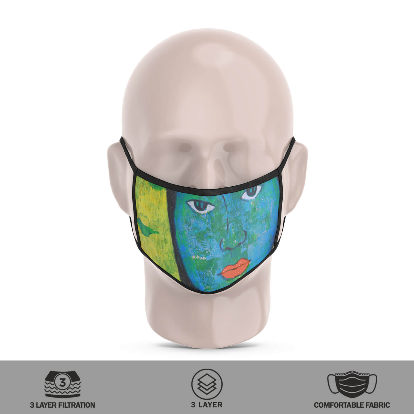 Winter Reusable Face Mask - Priyanka Waghela