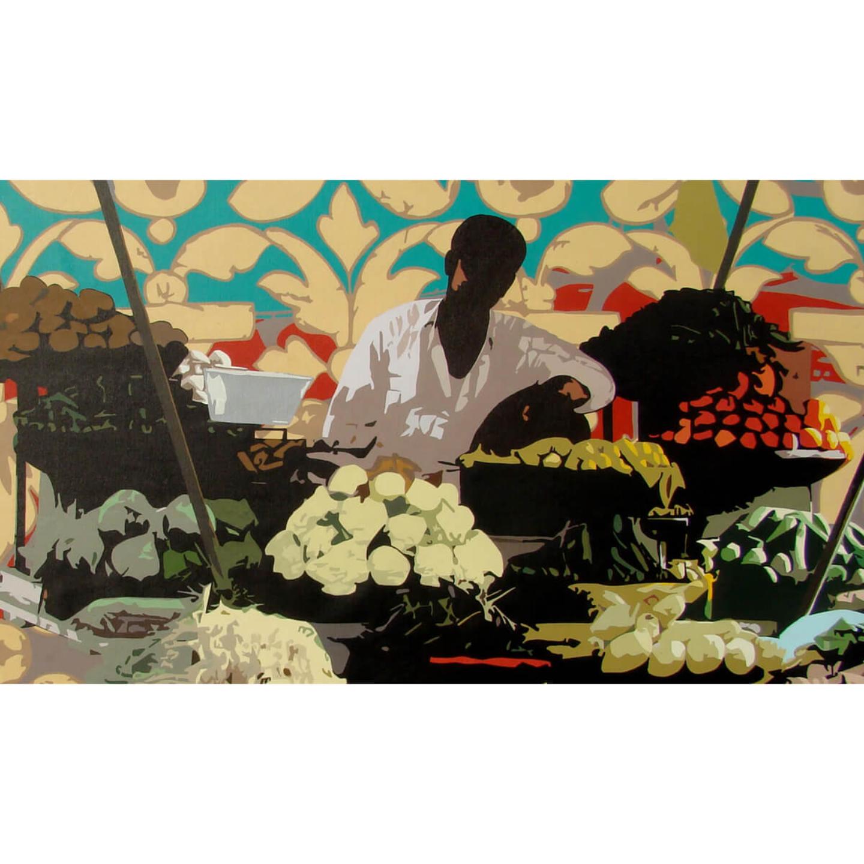 Vegetable Seller Reusable Face Mask - Sohan Jakhar