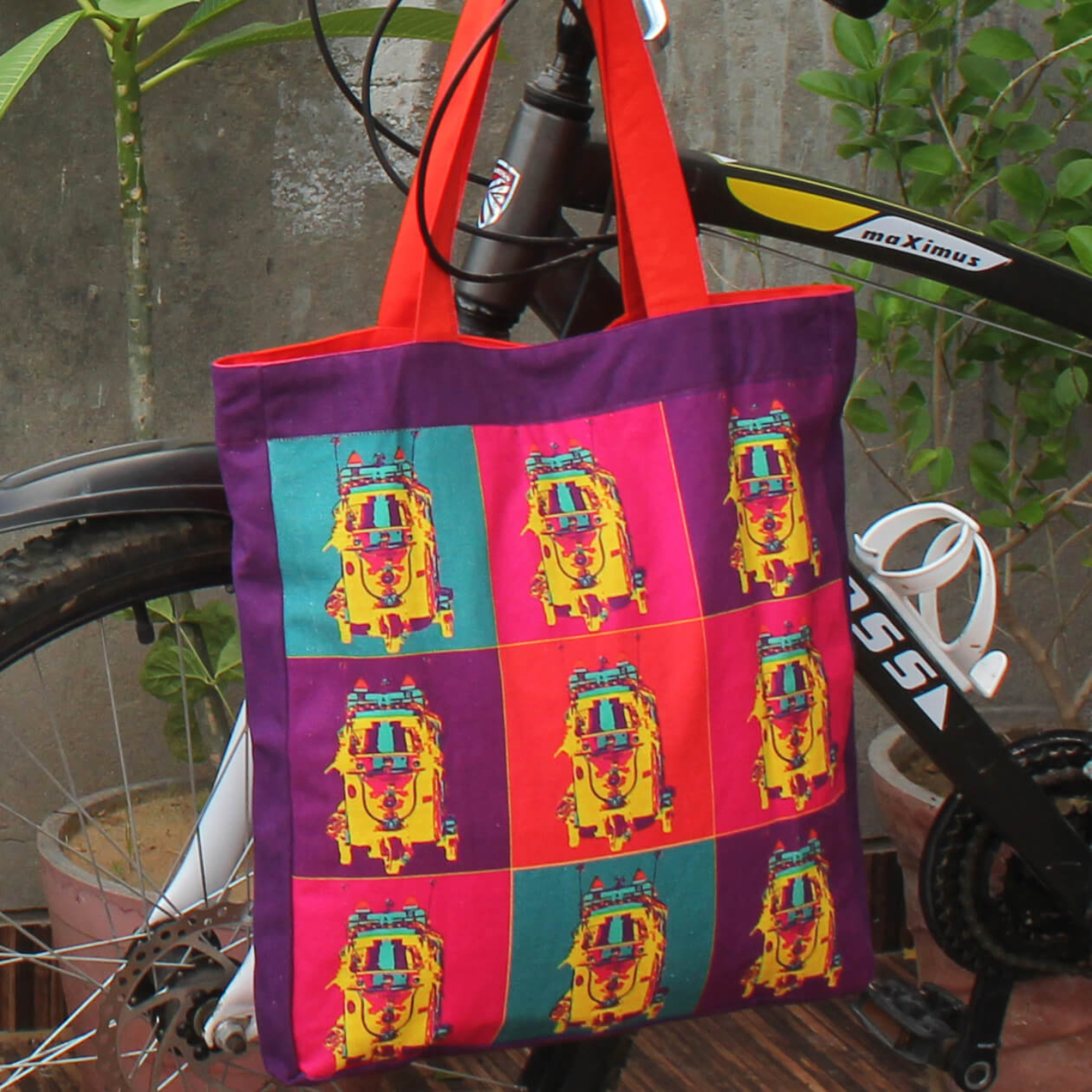 Pop Taxi Jhola BagShopping Bag