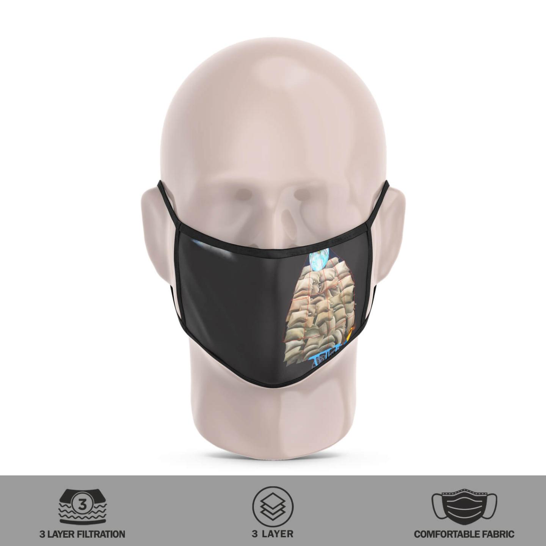 Chhattisgarh Diaries-1 Reusable Face Mask- Tushar Waghela