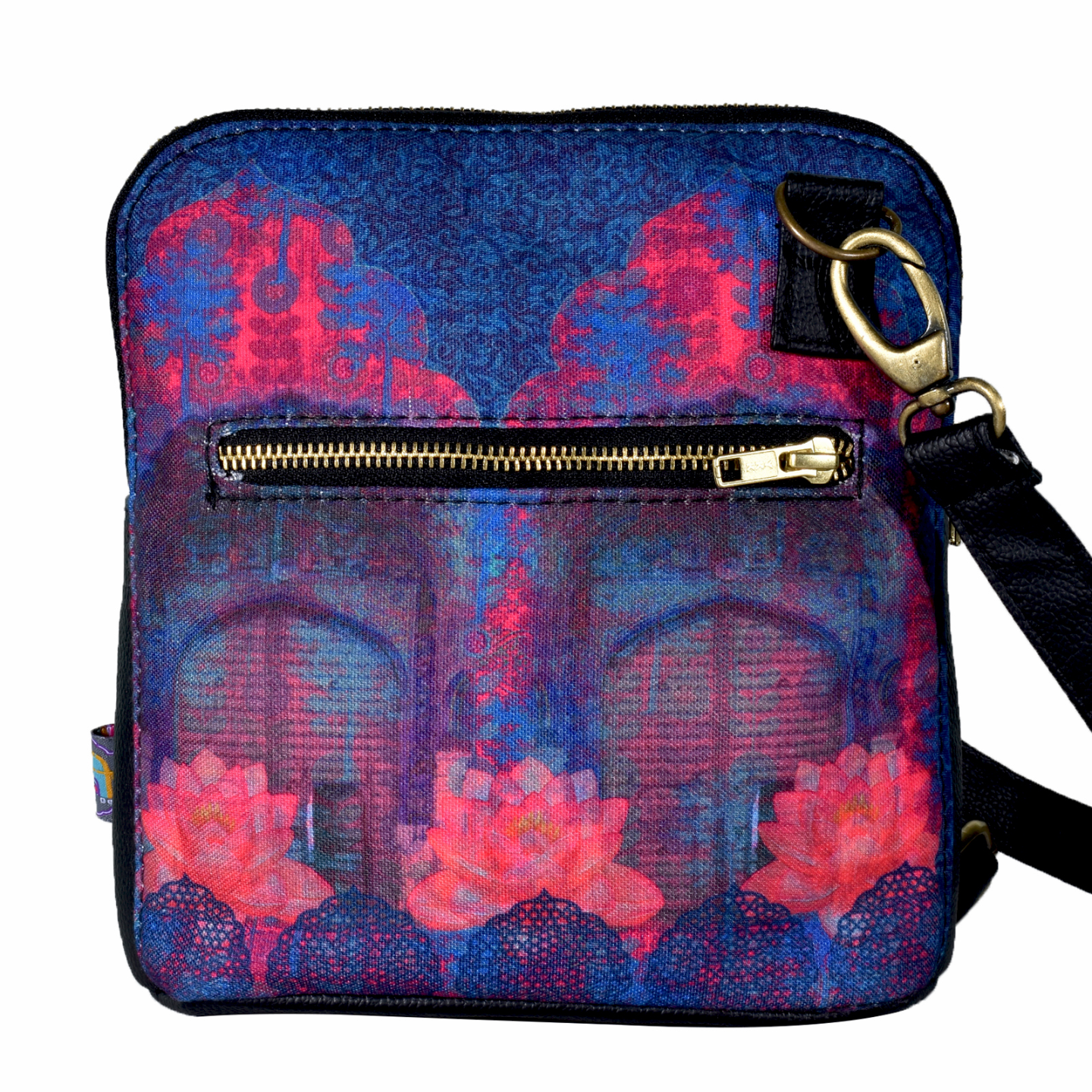 Cool Blue Rajasthani Crossbody Bag For Women And Girls