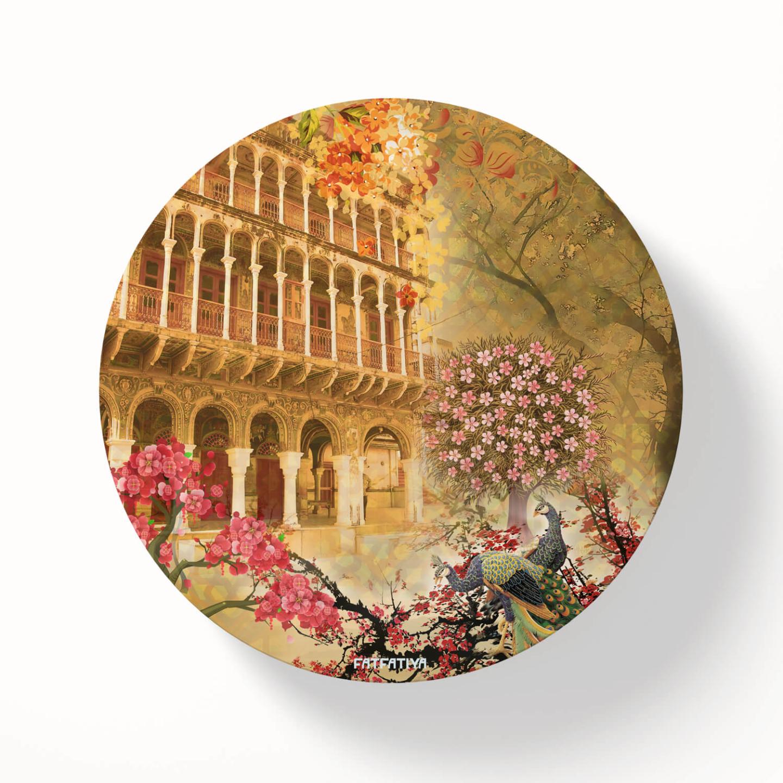 Heritage Haveli Table Coaster Set of Six