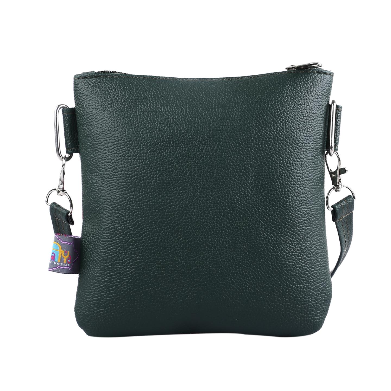 Shekhawati EleHathi Canvas PU Small Sling Bag