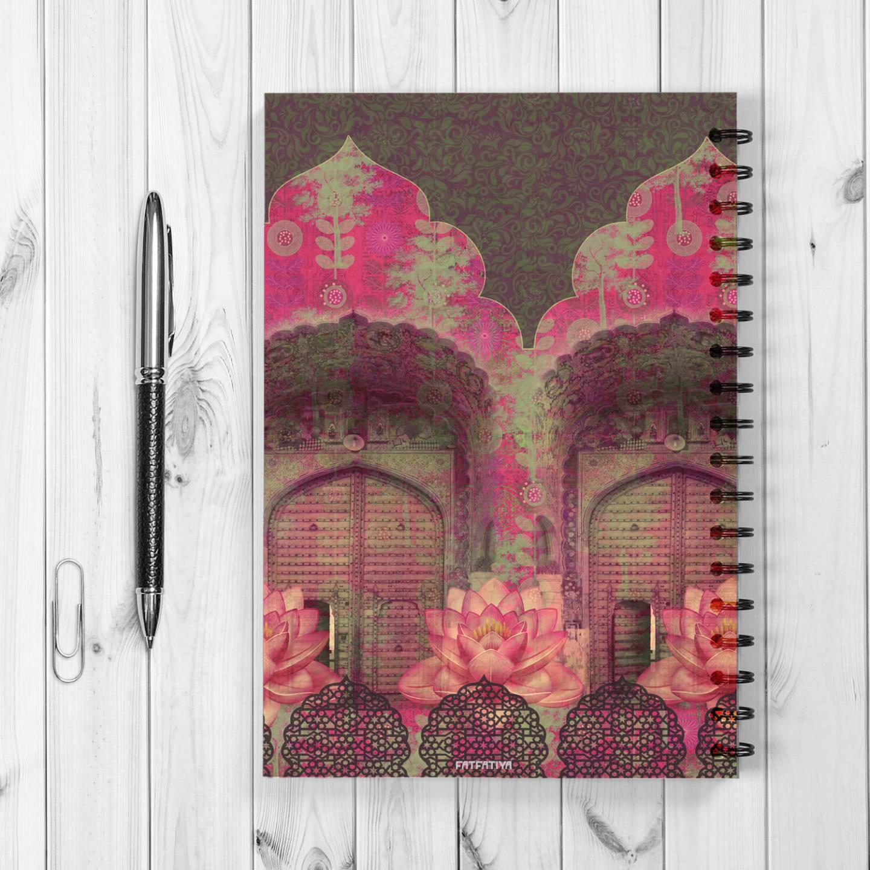 Rajasthani Door Spiral Notebook