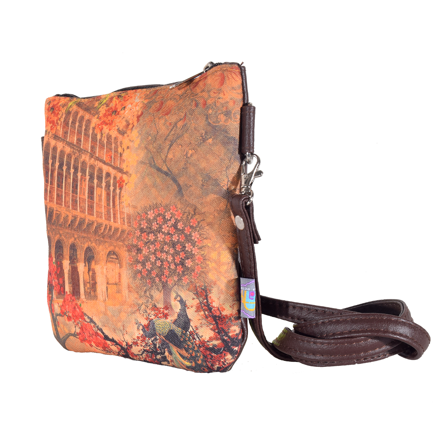 Fort and Floral Small Sling Bag