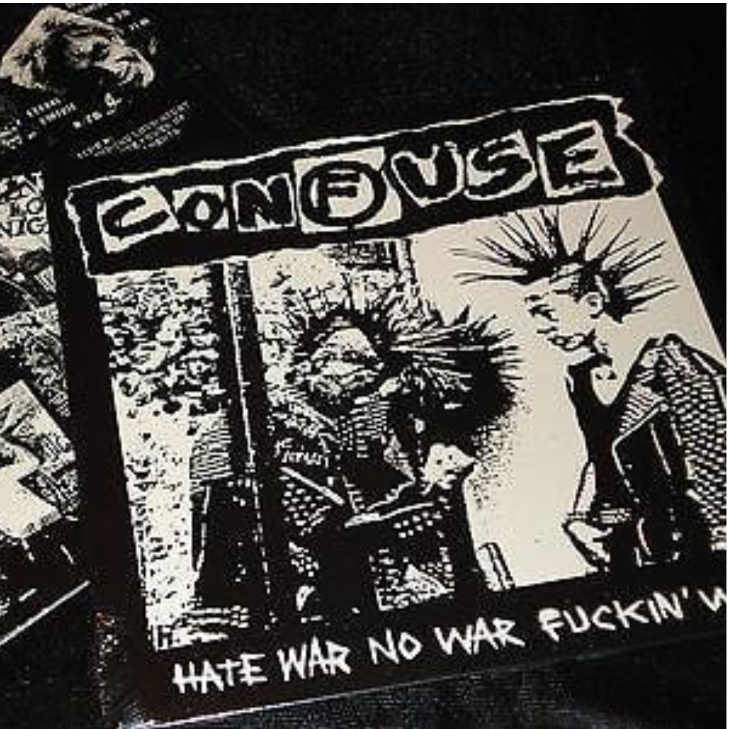 CONFUSE - Hate War No War Fuckin War LP