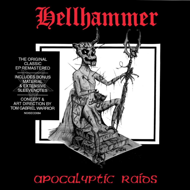 "HELLHAMMER - Apocalyptic Raids 12"" (180gram vinyl)"