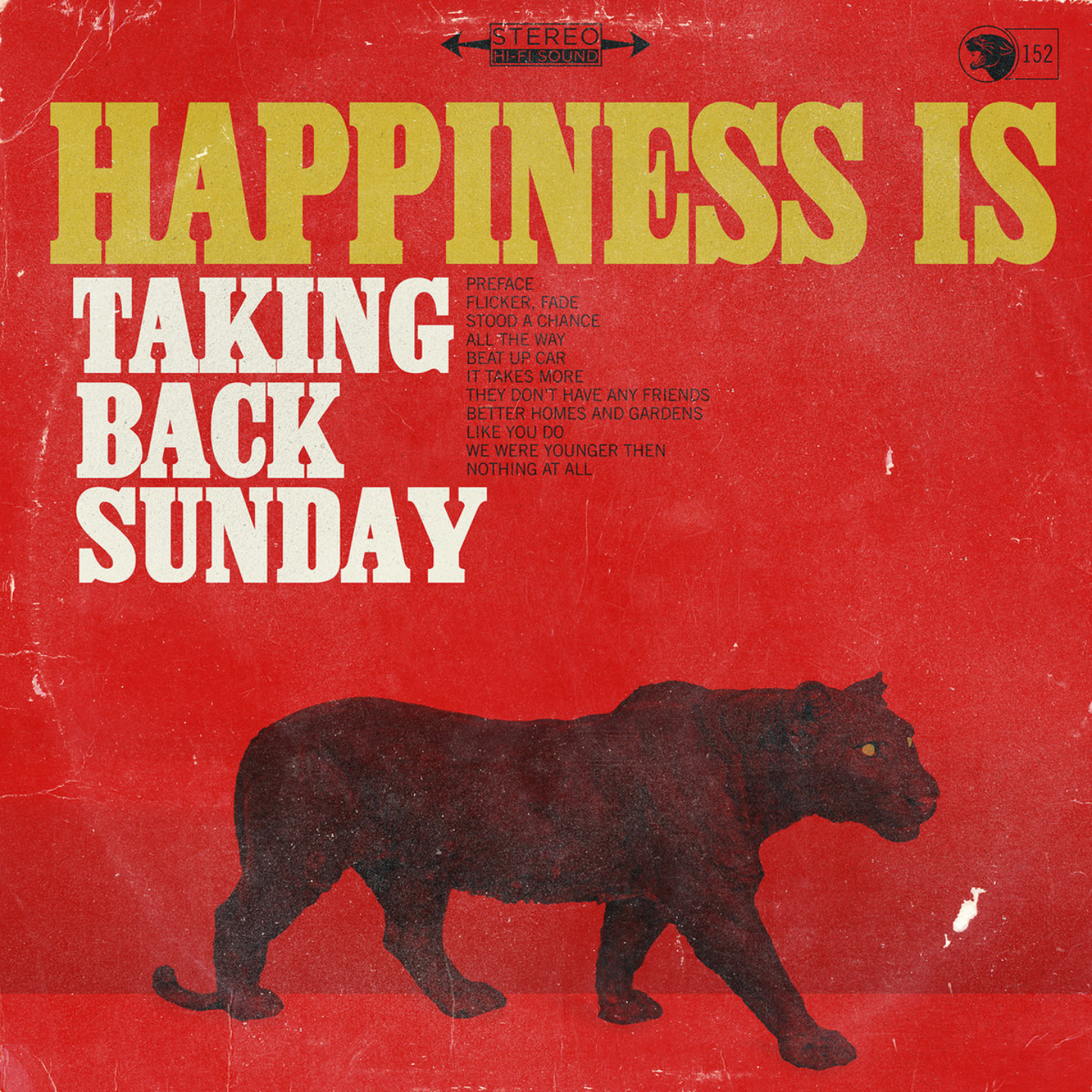TAKING BACK SUNDAY - Happiness Is LP
