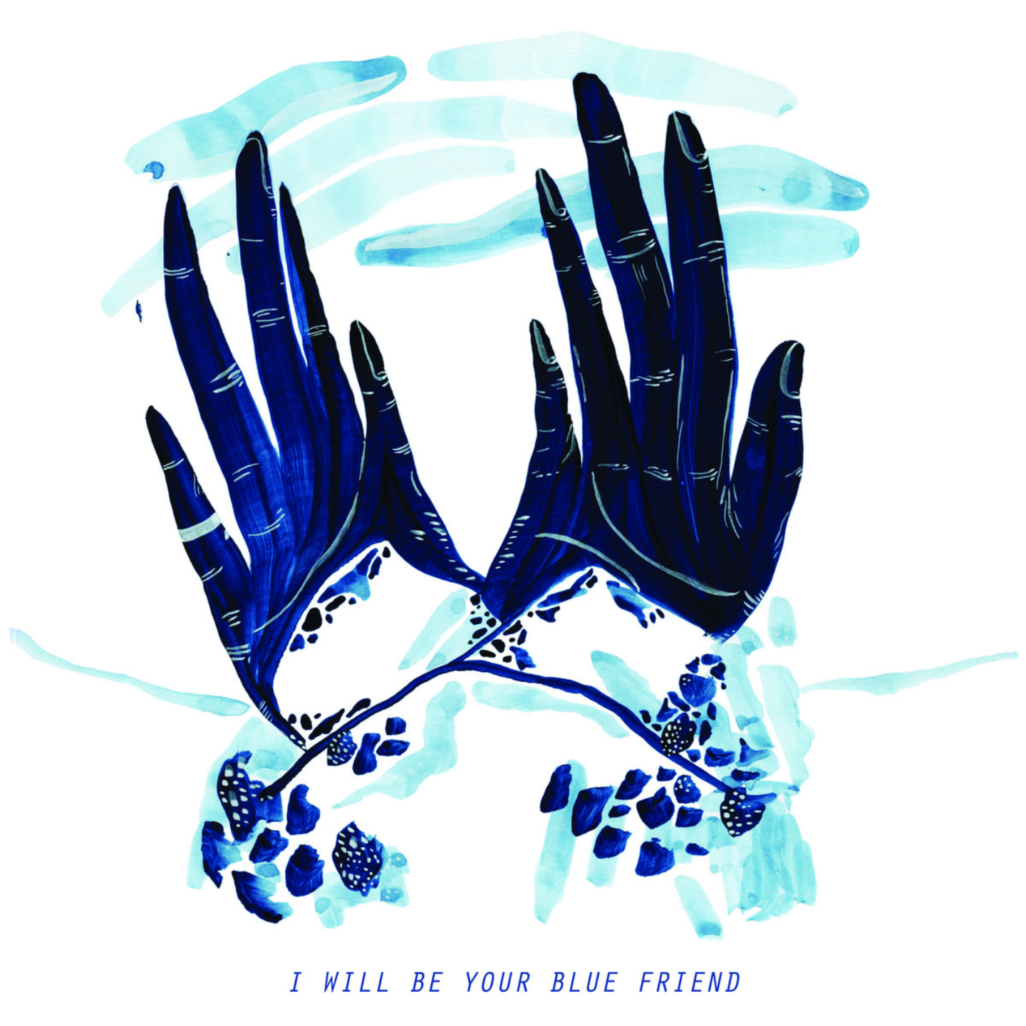 BLUE FRIEND - I Will Be Your Blue Friend LP