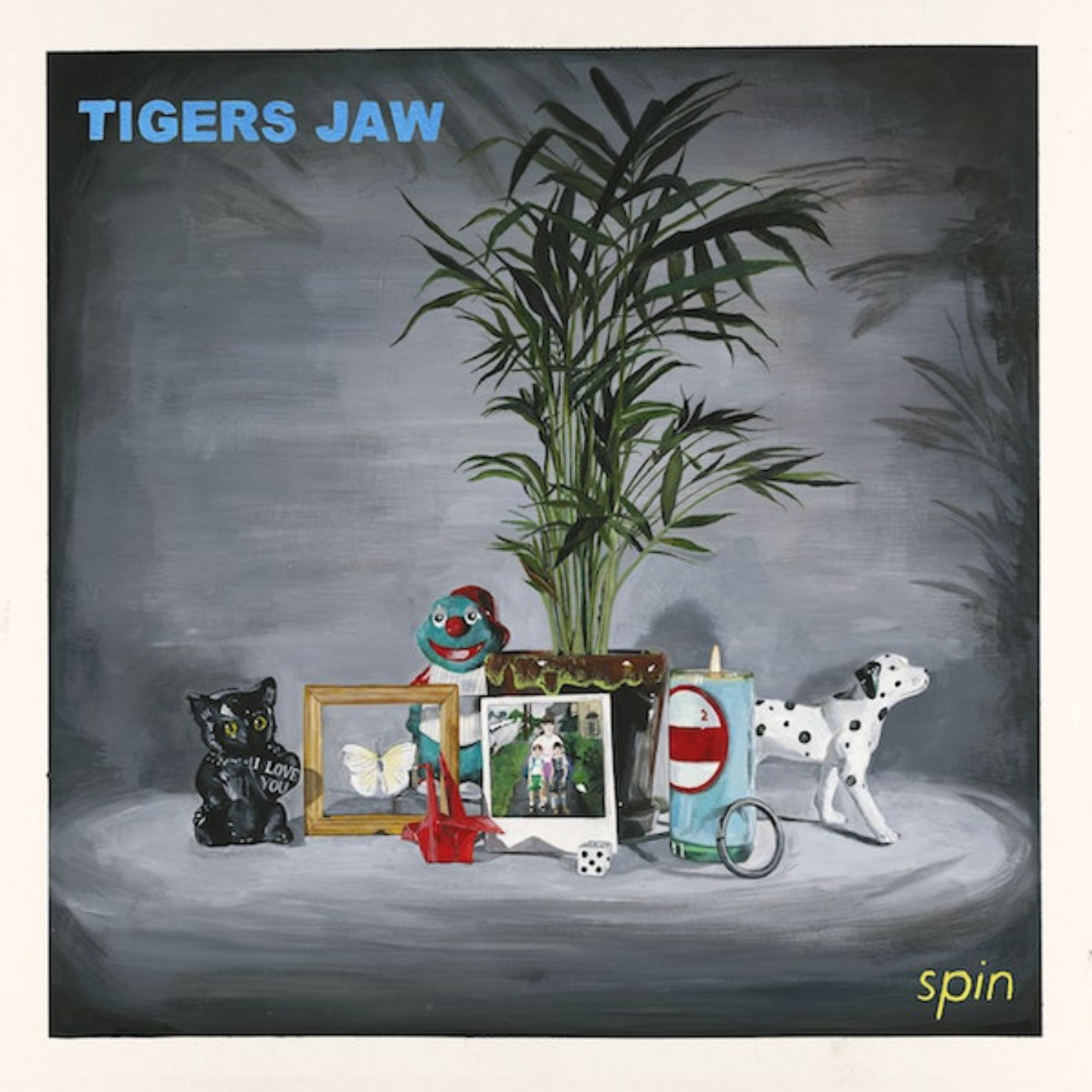 TIGERS JAW - Spin LP (Colour Vinyl)