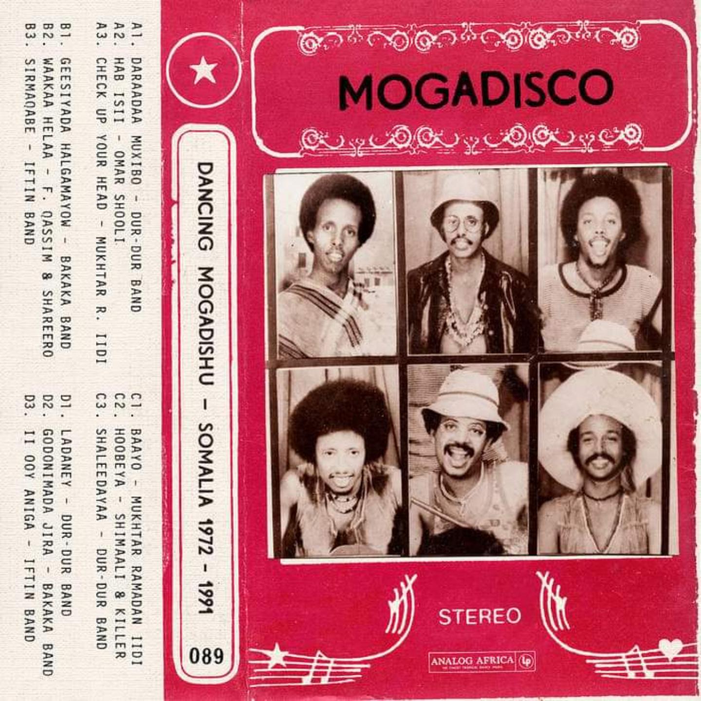 VA - Mogadisco  Dancing Mogadishu Somalia 1972 - 1991 2xLP