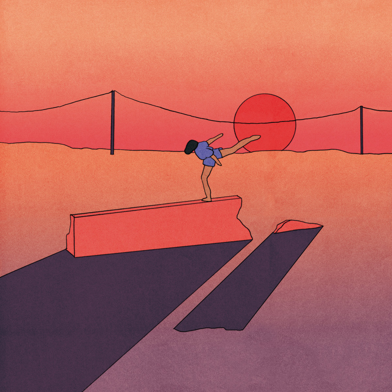 JAY SOM - Anak Ko LP (Red w Orange & Pink Splatter Vinyl)
