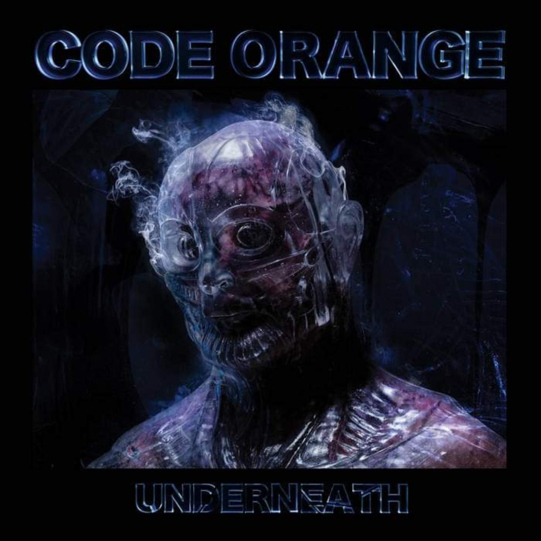 CODE ORANGE - Underneath LP BlueBlack Translucent Galaxy vinyl