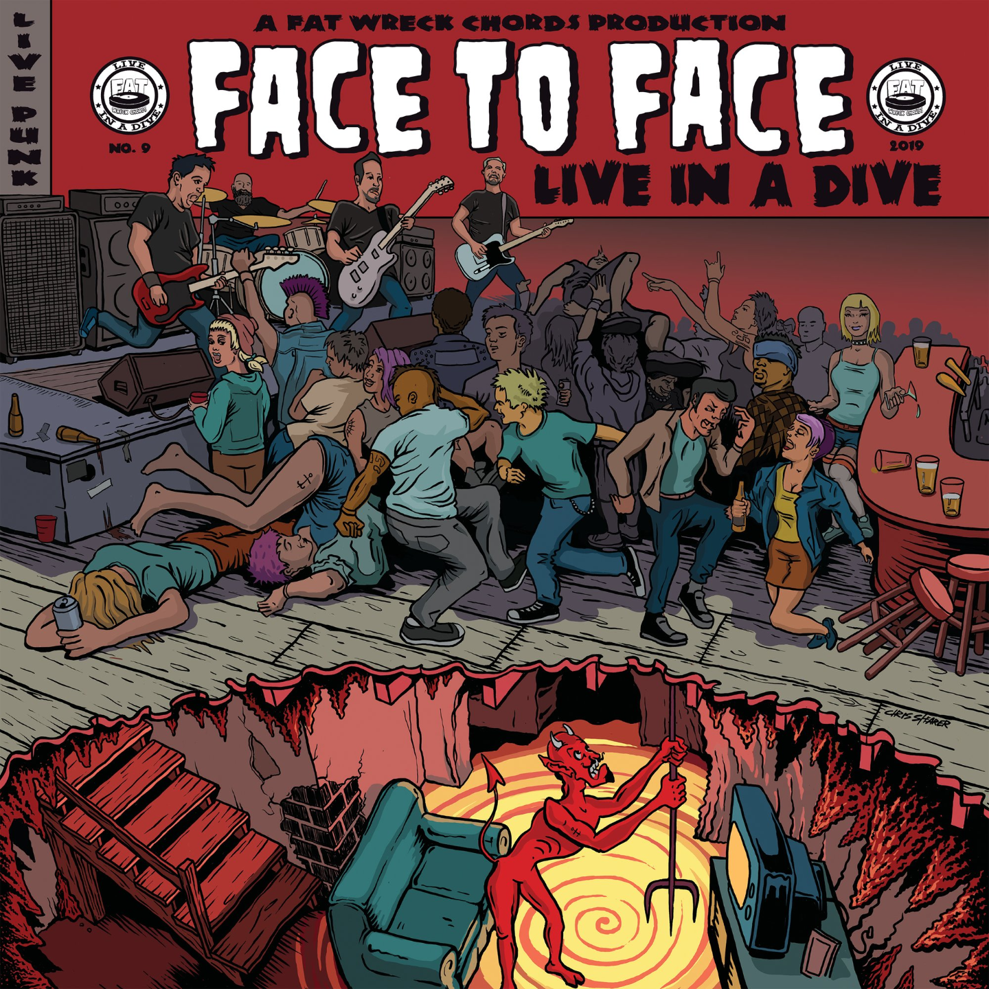 FACE TO FACE - Live In A Dive LP