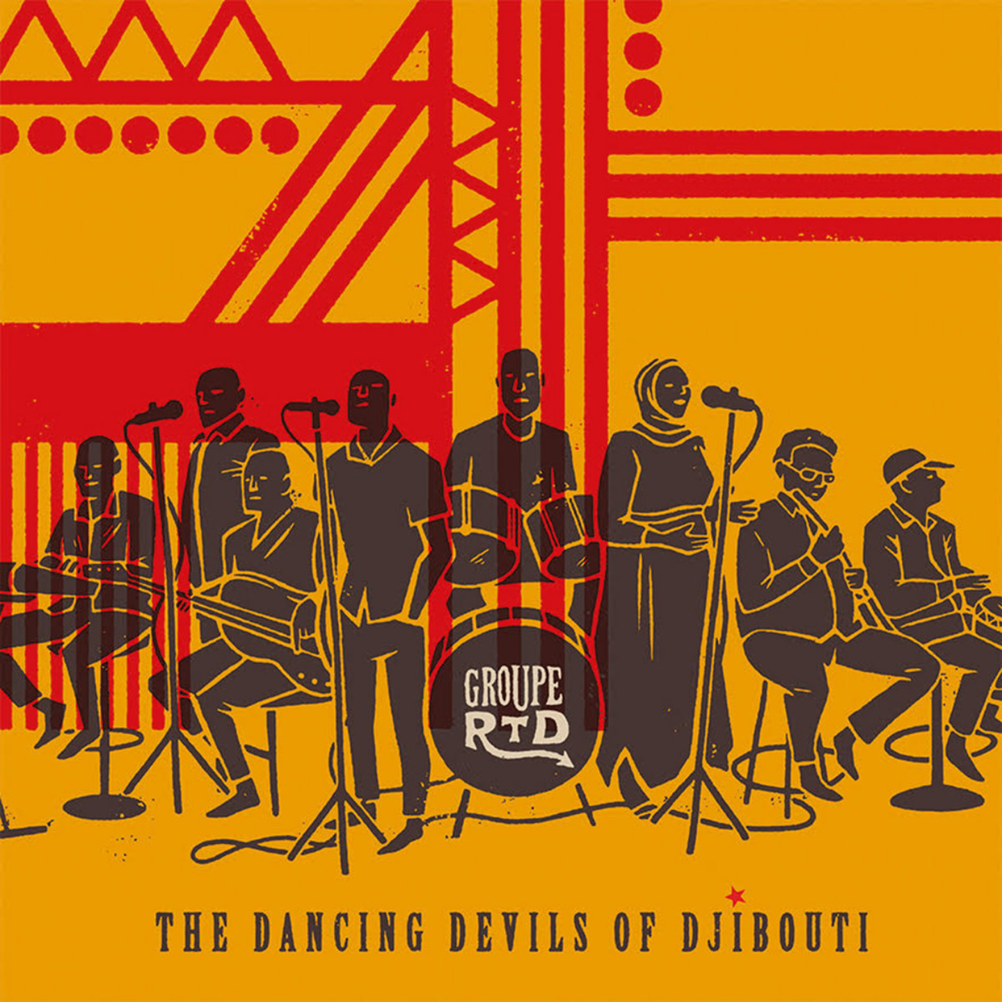 GROUPE RTD - The Dancing Devils of Djibouti 2xLP