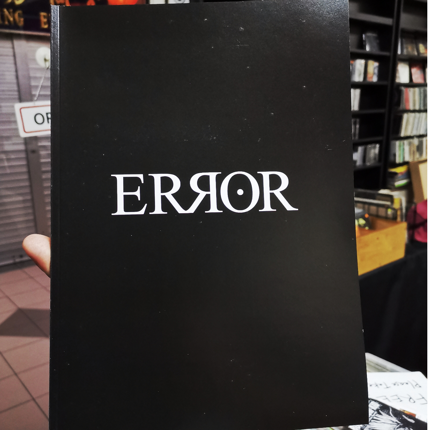 ERROR Art Book