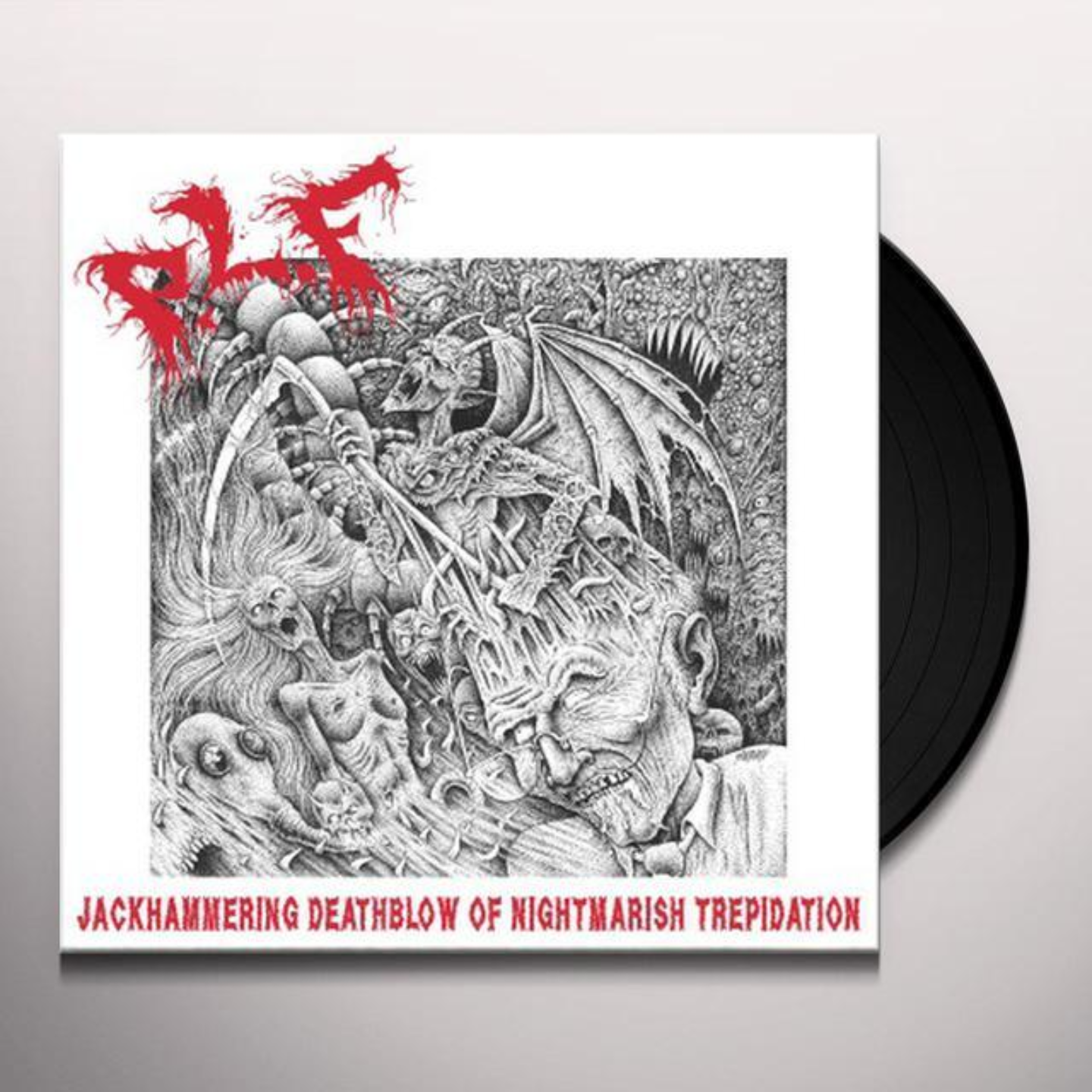 P.L.F - Jackhammering Deathblow Of Nightmarish Trepidation LP