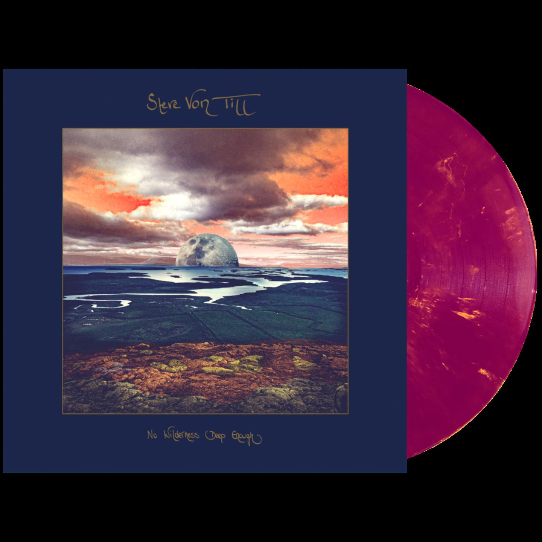 STEVE VON TILL - No Wilderness Deep Enough Violet with Gold Vinyl