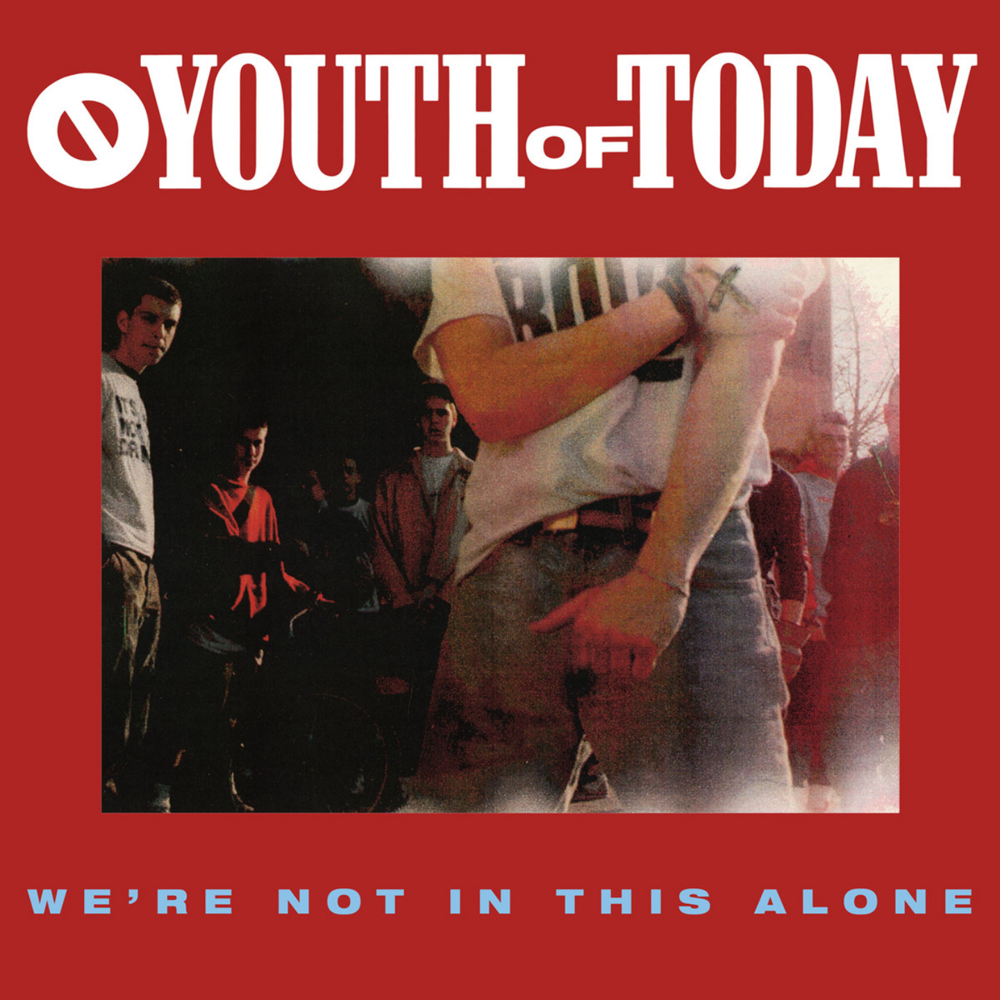 YOUTH OF TODAY - Were Not In This Alone LP Color Vinyl
