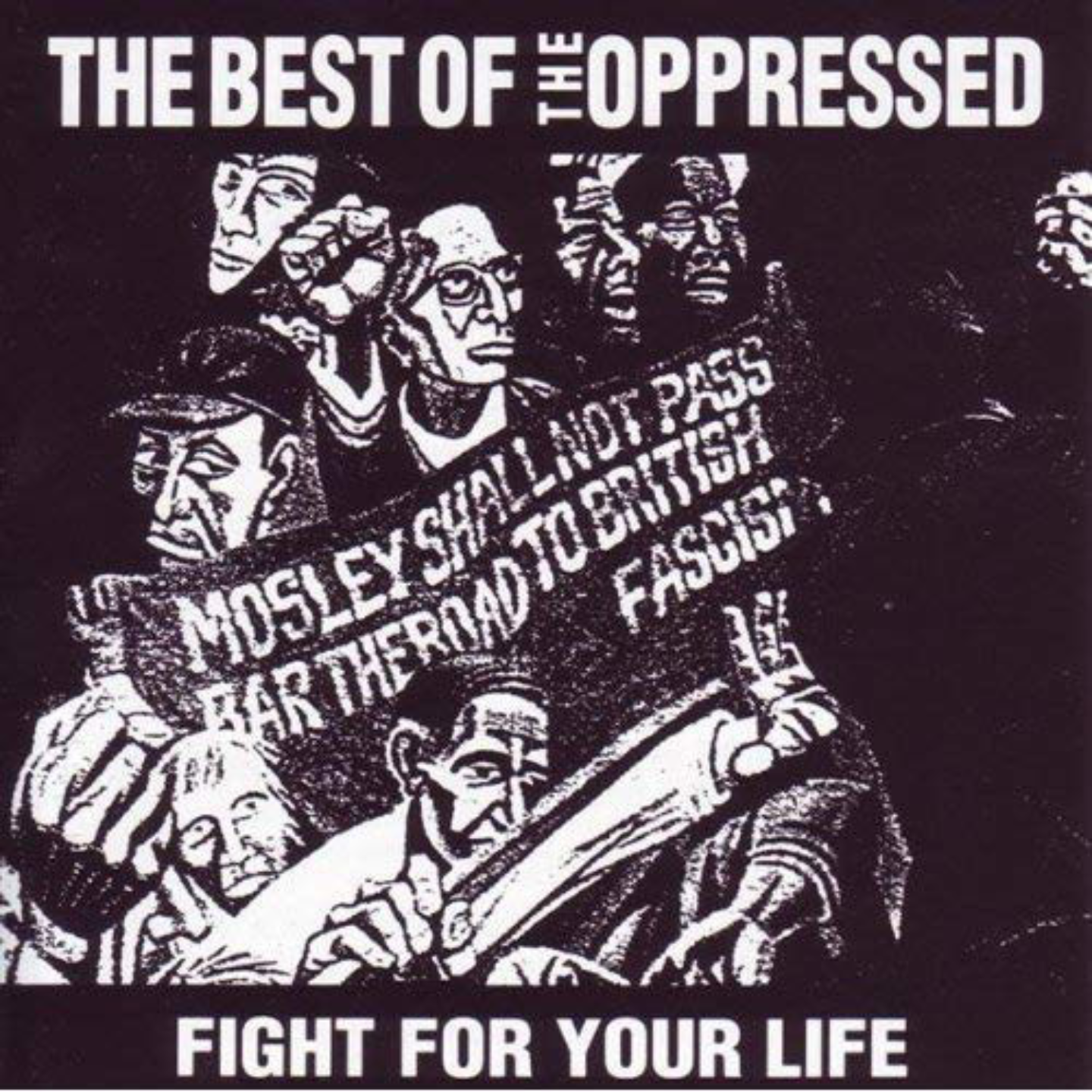OPPRESSED, THE - Fight For Your Life / The Best Of The Oppressed LP (Orange Vinyl)